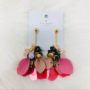 Kate spade vibrant life unique earrings multi pink